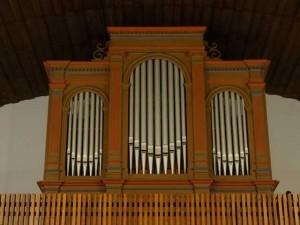 Evangelische Kirche Orgel 01