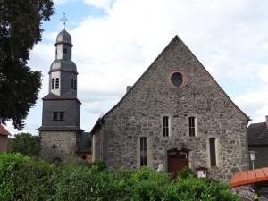 Evangelische Kirche Eingang